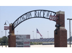 Darlington Raceway - Flagpole Installation