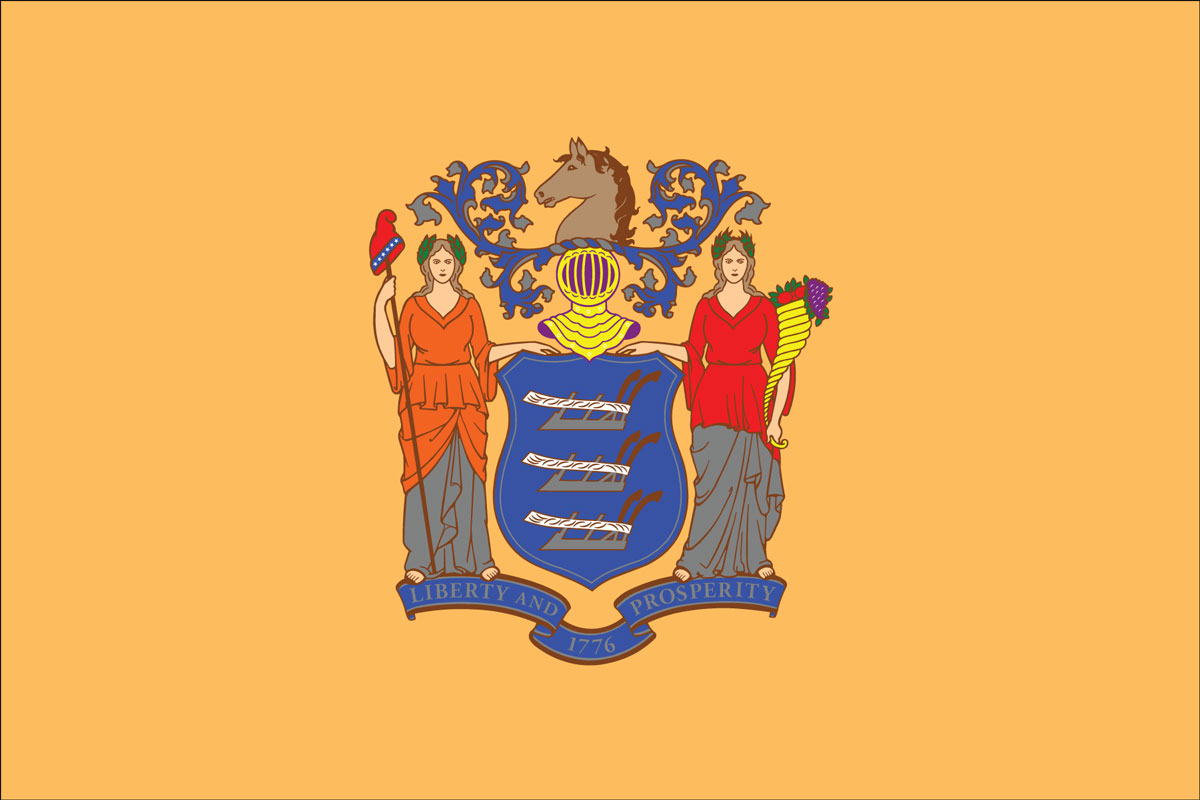New Jersey State Flag - Flagnations