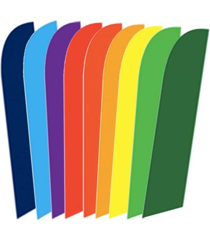 Colored Feather Flags