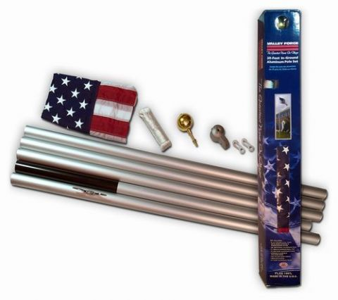 Homesteader Flagpole 20'