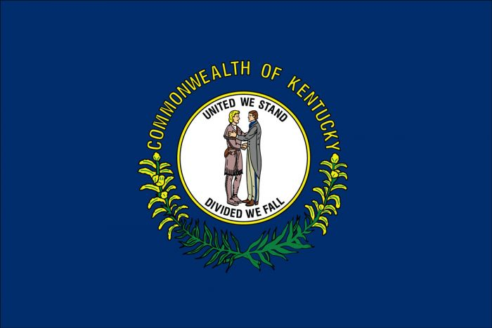 Kentucky State Flag Brass Grommets Quality Nylon All Sizes You Pick